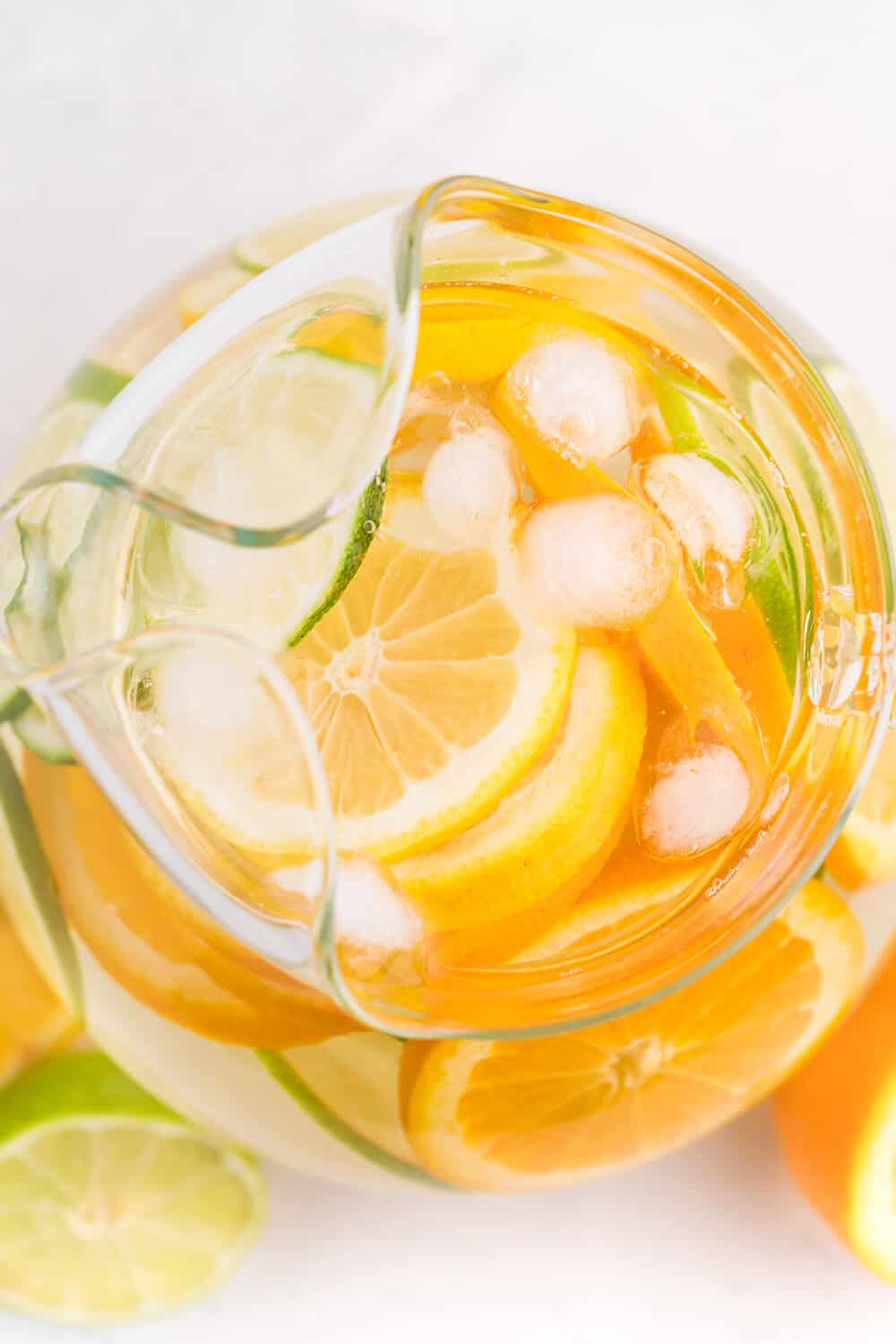 Citrus Bliss Infused Water - This refreshing infused water is the perfect way to amp up plain ol' water. Fresh lemon, lime and orange slices help you stay hydrated and healthy!