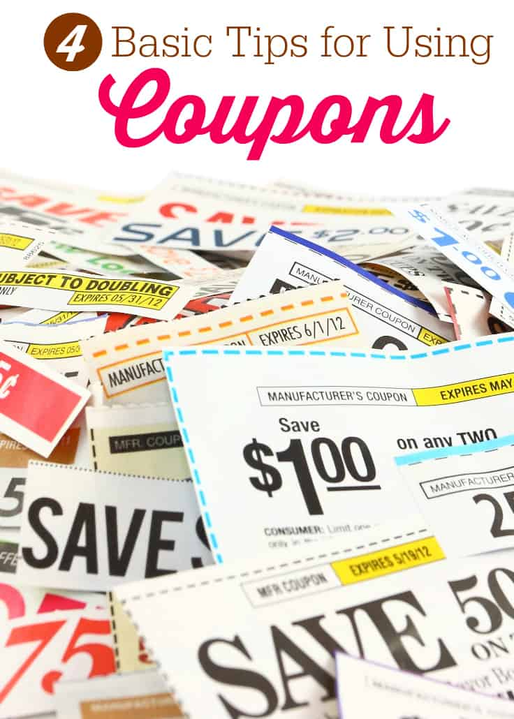 4 Basic Tips for Using Coupons - Simply Stacie