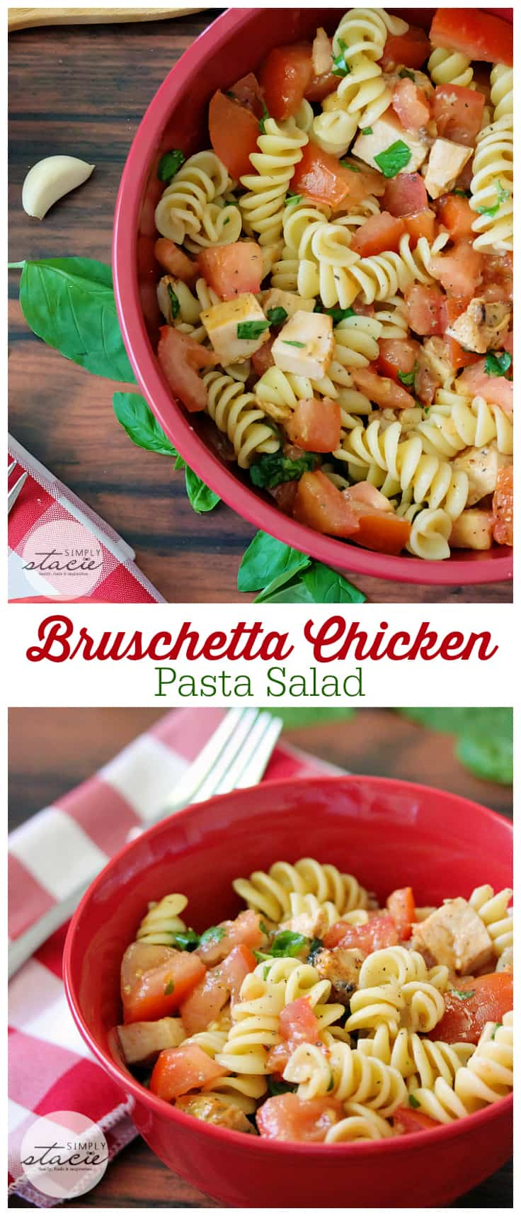Fall pasta salad - Bruschetta Chicken Pasta Salad The Perfect Summer Side People Rave About How Delicious This