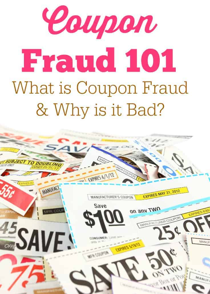 Coupon Fraud 101