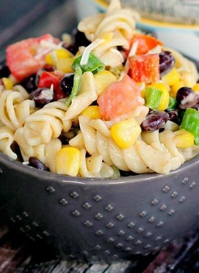 Jalapeno Ranch Pasta Salad