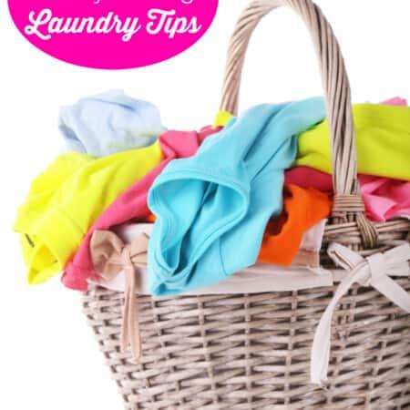 6 Sanity Saving Laundry Tips