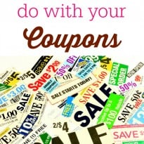 What NOT to do with your Coupons