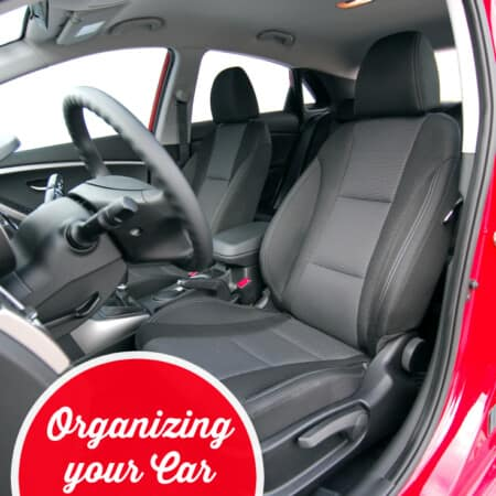 Organizing your Car on a Budget