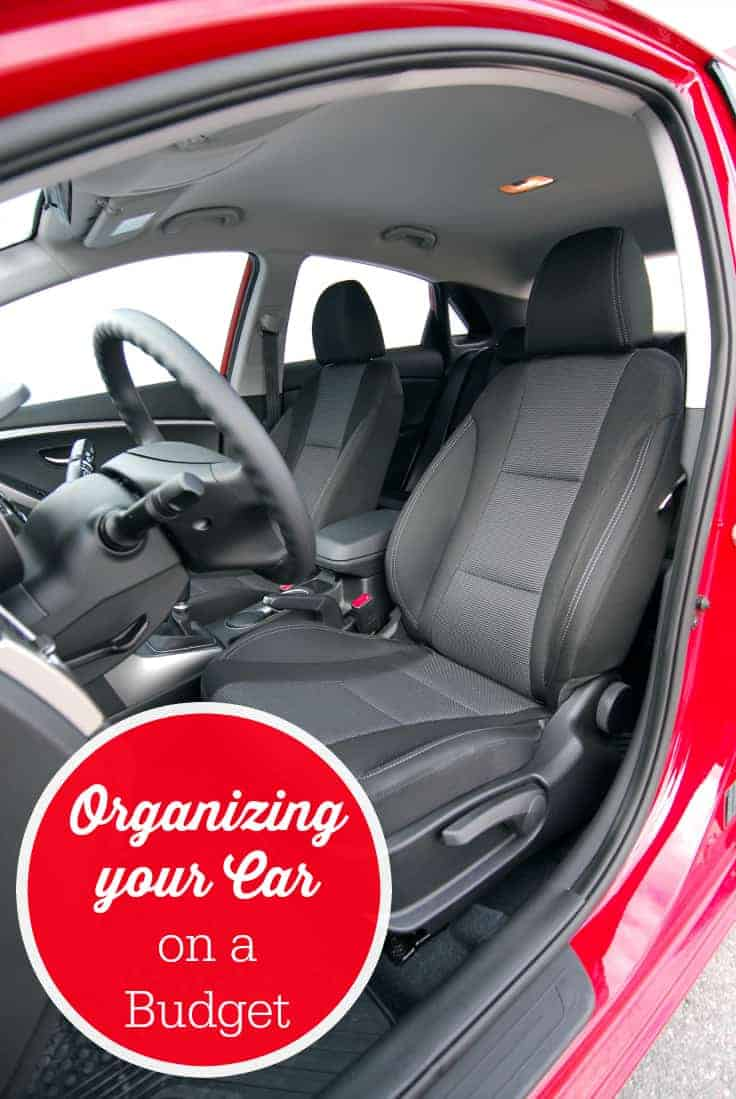 Organizing your Car on a Budget - Six simple tips on organizing your car on a budget. Who said keeping a clean vehicle had to break the bank?