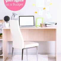 Organizing Your Office on a Budget