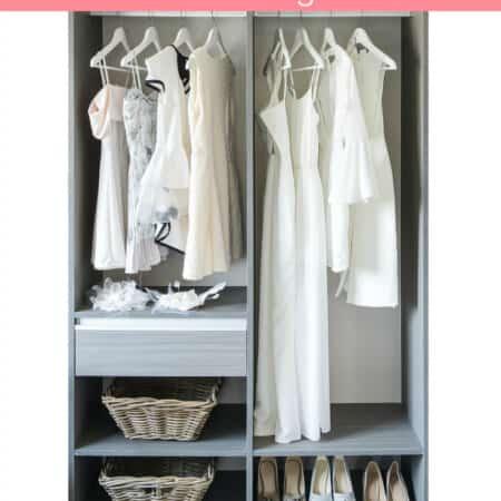 Organizing Closets on a Budget