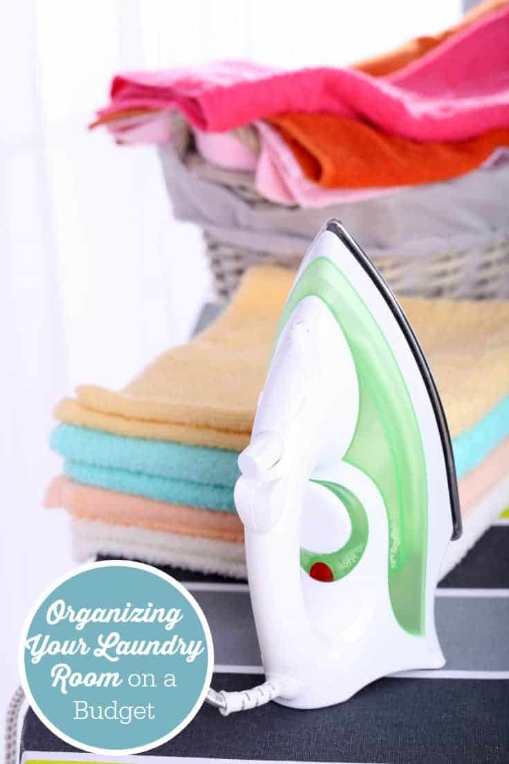 Organizing Your Laundry Room on a Budget - the laundry room is more important than you think!