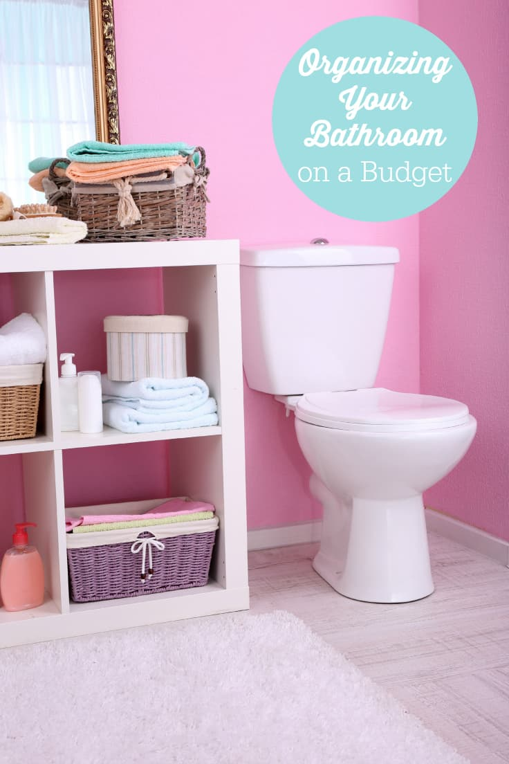 Organizing your bathroom on a budget is super simple with these tips!