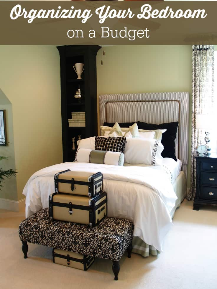 organizing your bedroom on a budget simply stacie. Black Bedroom Furniture Sets. Home Design Ideas