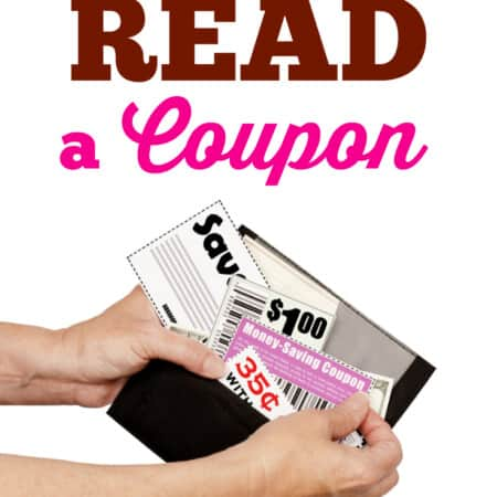 How to Read a Coupon