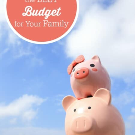 How to Choose the Best Budget for Your Family