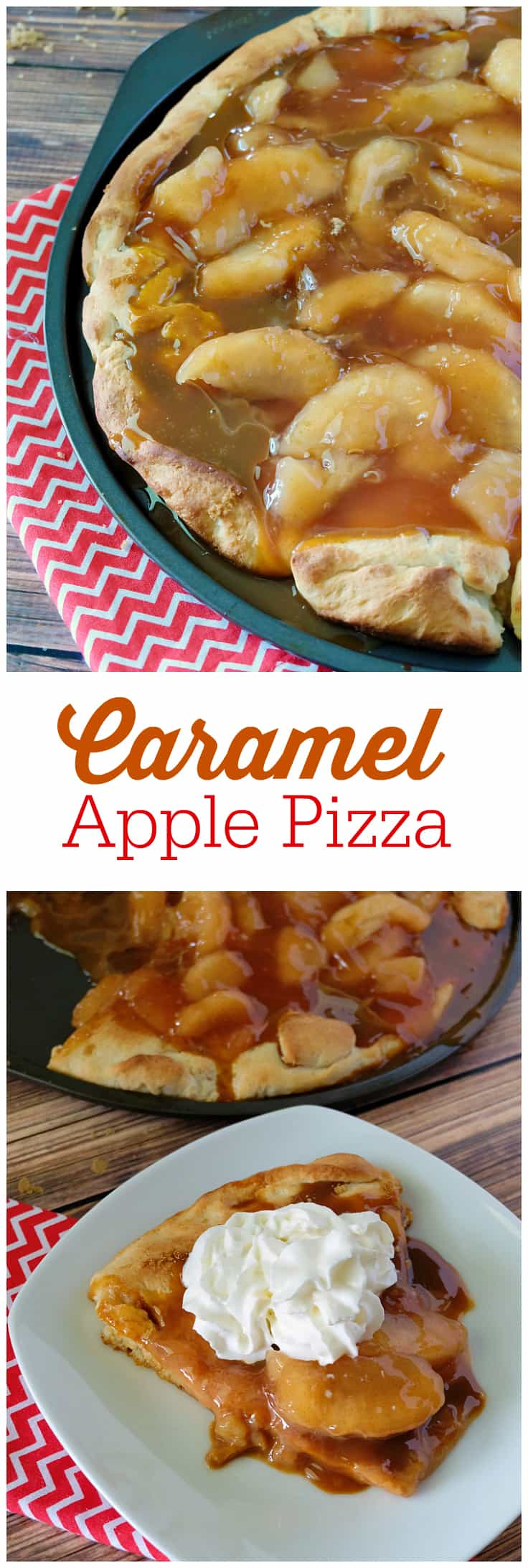 Caramel Apple Pizza - Simply Stacie