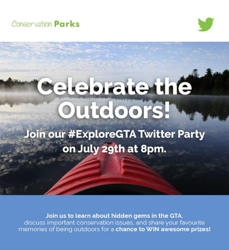 Join the #ExploreGTA Twitter Party on July 29!