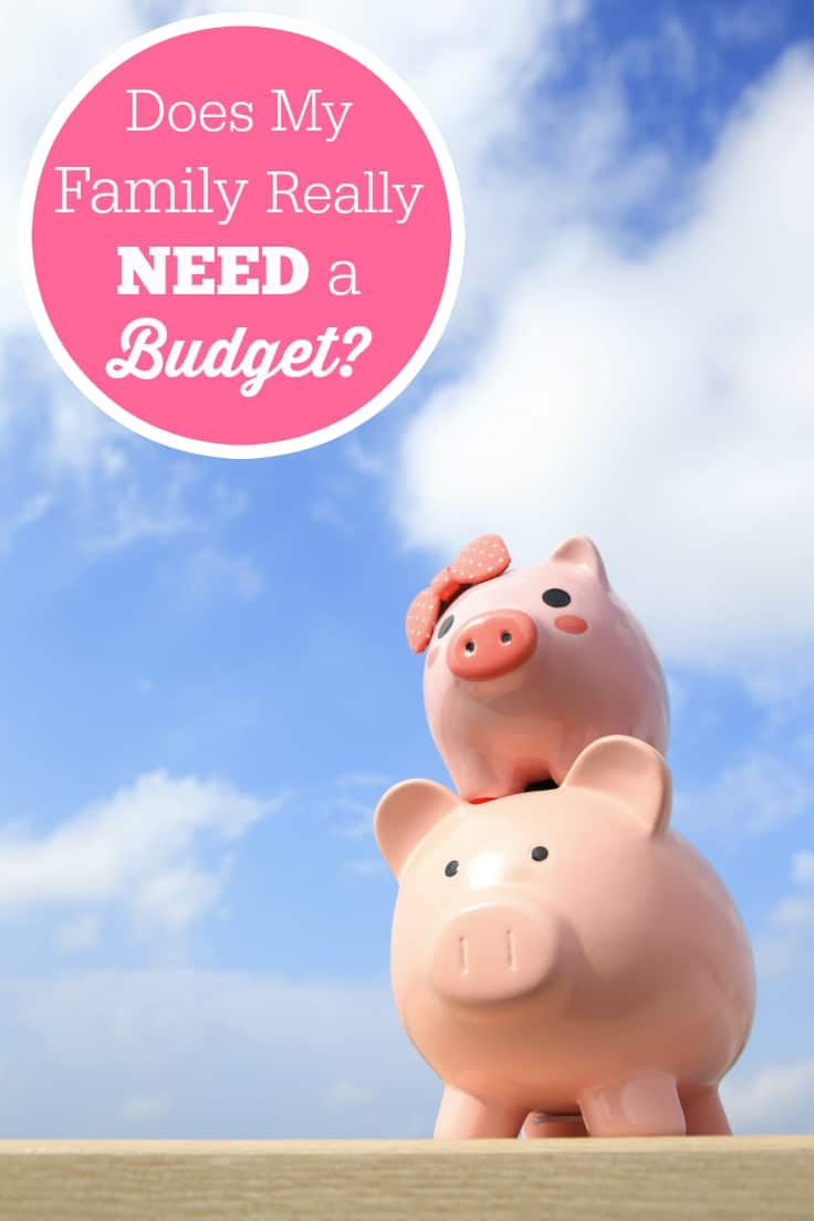 Does My Family Really Need a Budget?