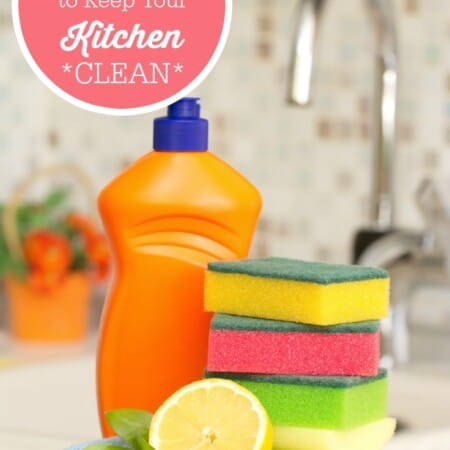 7 Magical Ways To Keep Your Kitchen Clean