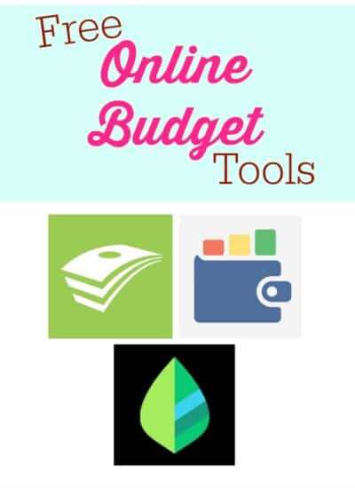 3 Free Online Budget Tools