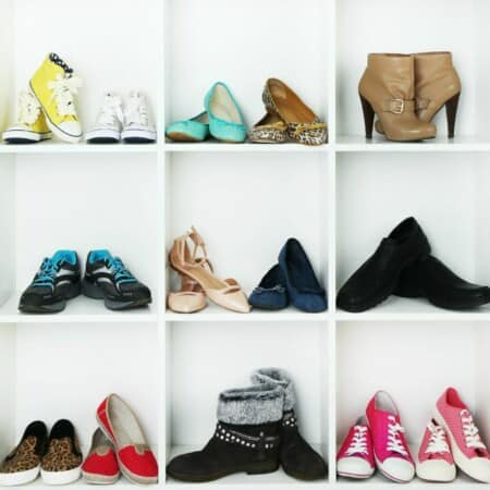6 Easy Ways to Organize Shoes