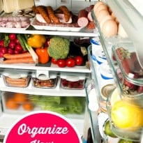 Organize Your Refrigerator in 4 Steps