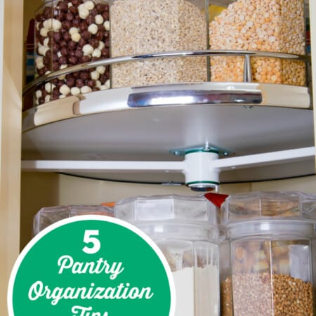 5 Pantry Organization Tips to Save Your Sanity