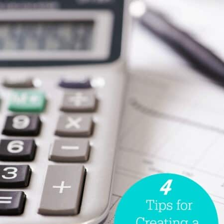 4 Tips for Creating a Successful Budget
