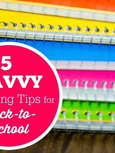 5 Savvy Spending Tips for Back-to-School