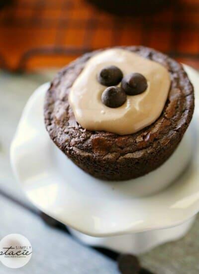 Brownie Cheesecake Cups