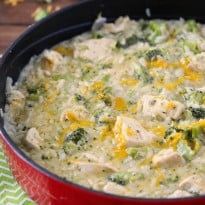 One-Pot Chicken & Broccoli Rice