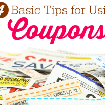 4 Basic Tips for Using Coupons