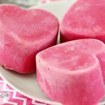 Frozen Yogurt Hearts