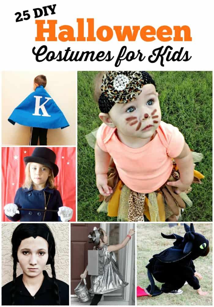 25 DIY Halloween Costumes for Kids