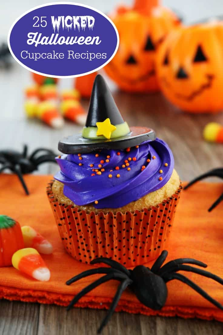 25 Wicked Halloween Cupcake Recipes Simply Stacie