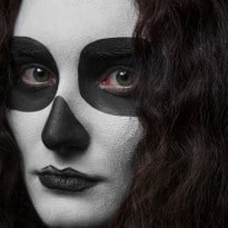 25 Creepy Halloween Makeup Tutorials