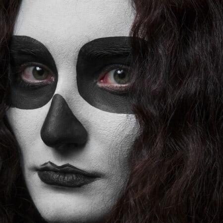 25 Creepy Halloween Makeup Tutorials