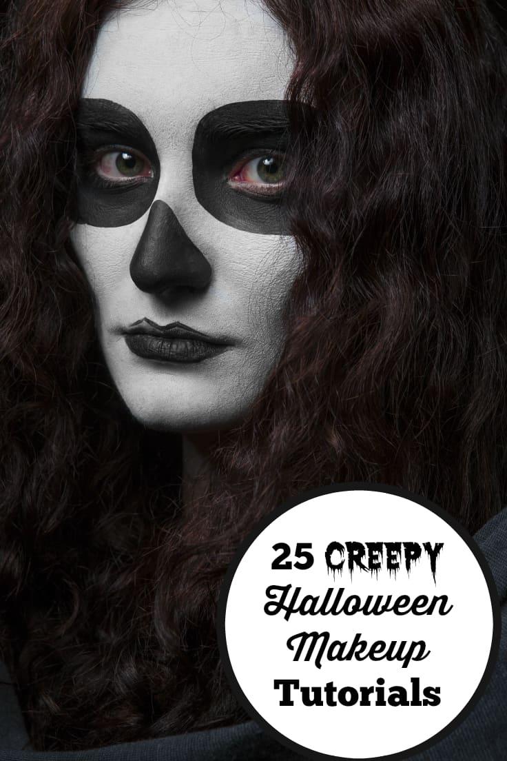 25 Creepy Halloween Makeup Tutorials - Simply Stacie