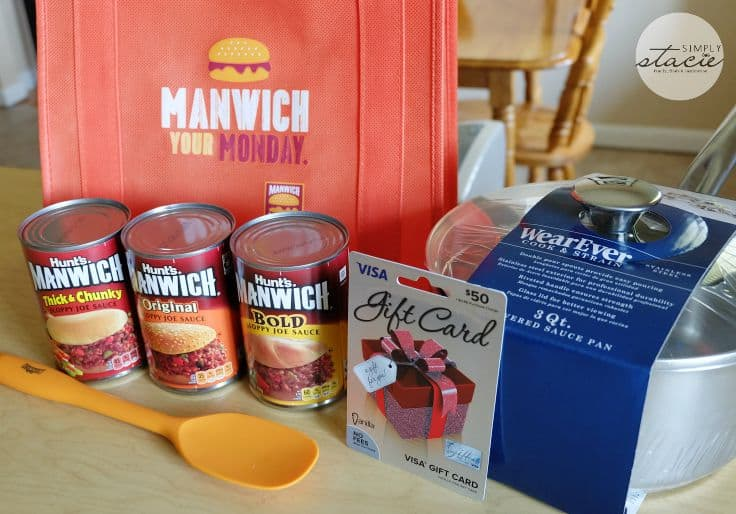 Join the #ManwichMonday Twitter Party on August 31!