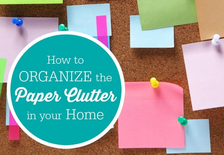 how to organize the paper clutter in your home simply stacie. Black Bedroom Furniture Sets. Home Design Ideas