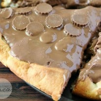 Reese Peanut Butter Pizza