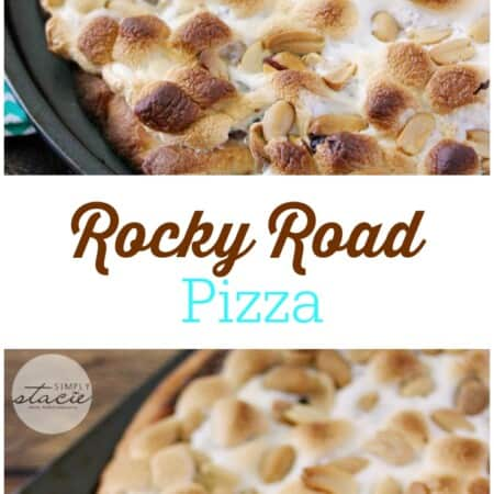 Rocky Road Pizza