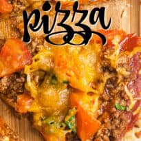 Taco Pizza - A flavour fiesta in your mouth with this delicious recipe!