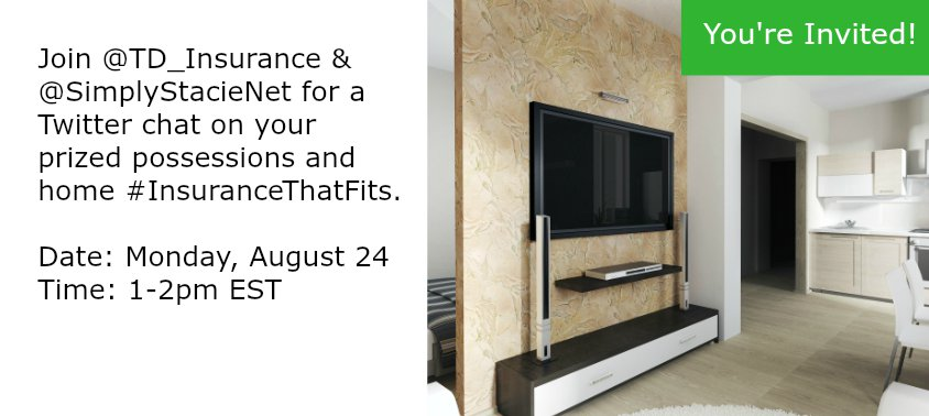 Join the #InsuranceThatFits Twitter Chat on August 24!