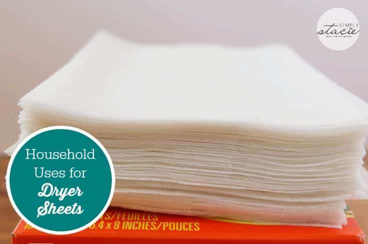 Household Uses for Dryer Sheets - These household uses for dryer sheets may surprise you! You'll be shocked at how well they work on different jobs around your home.