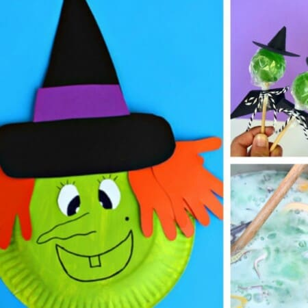 10 Witch Crafts & Activities for Kids