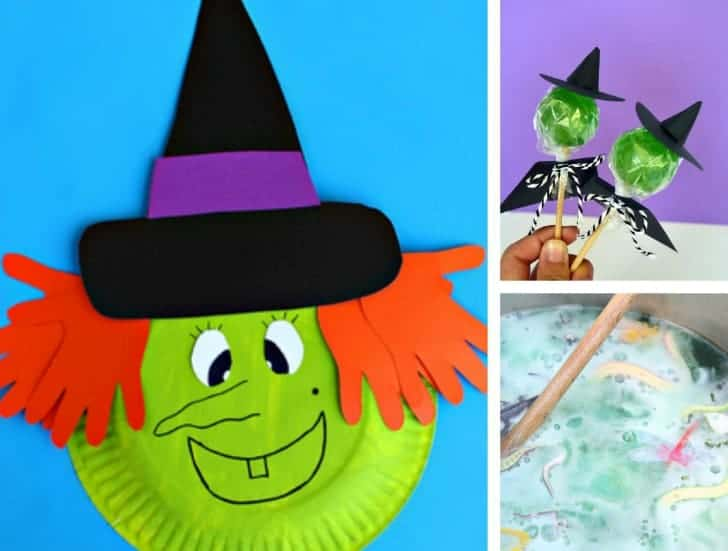 10 Witch Crafts Amp Activities For Kids Simply Stacie