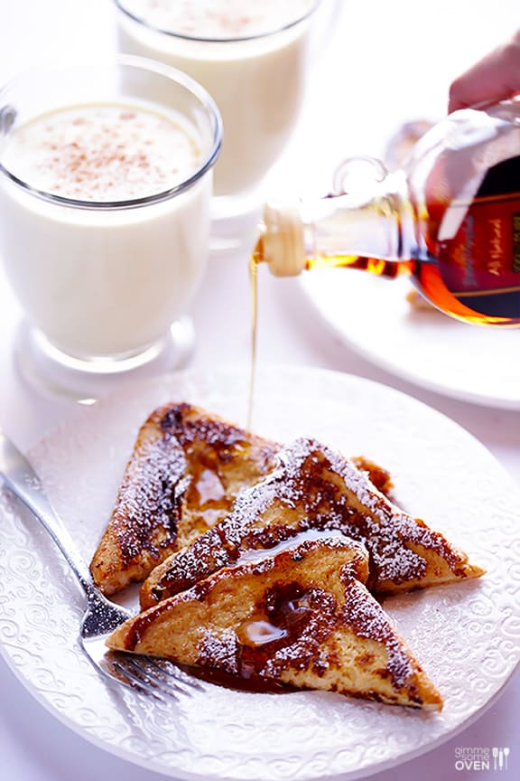 20 Spectacular French Toast Recipes - It's like having dessert for breakfast.