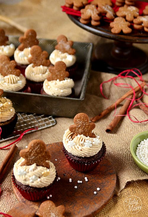20 Festive Gingerbread Desserts - Gingerbread desserts are so much more than cookies! Think above and beyond tradition with this list of 20 festive recipes.