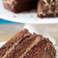 Chocoholics Chocolate Mousse Cake