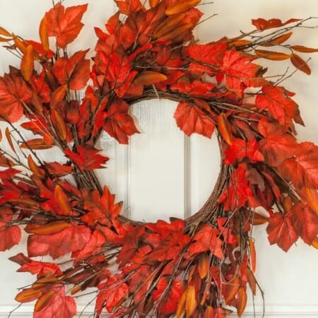 33 Beautiful DIY Fall Wreaths