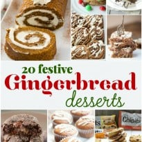 20 Festive Gingerbread Desserts