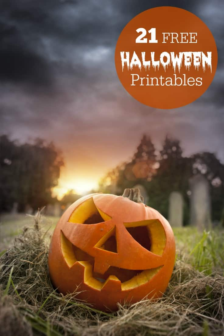 21 Free Halloween Printables